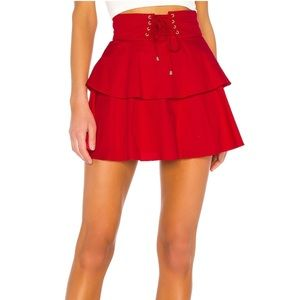 NWT Lovers + Friends Gwen Mini Skirt - SMALL